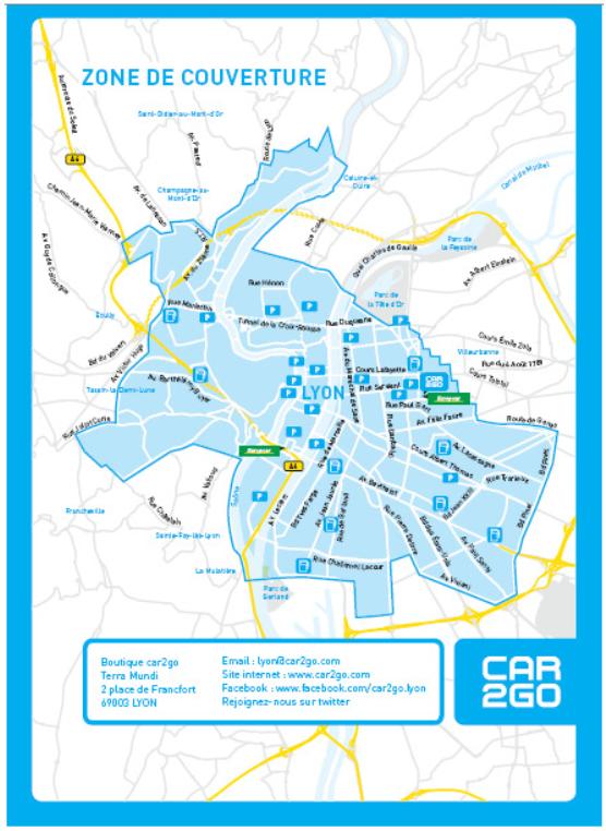 car2go lyon la location d automobiles en libre service. Black Bedroom Furniture Sets. Home Design Ideas