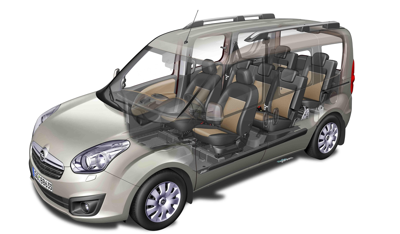 nouveaux opel combo cargo et combo tour 2012 disponibles. Black Bedroom Furniture Sets. Home Design Ideas