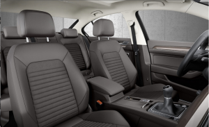 Interieur nouvelle Volkswagen Berline Passat 2015.