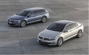 Nouvelle Volkswagen Passat berline et SW 2015