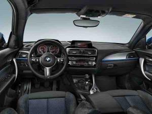 BMW Série 1 2015 tableau de bord (Voiture de fonction)
