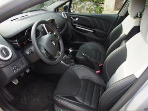 Nouvelle Renault Clio Initiale Paris 2015 sellerie