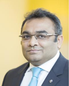 Ashwani Gupta directeur de la division des véhicules utilitaires (DVU)